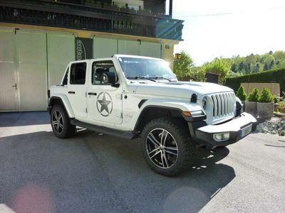 gebraucht Jeep Wrangler Unlimited Sahara 2,0 GME Aut. *TOPPREIS*