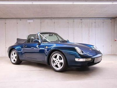 gebraucht Porsche 911 Urmodell (993) Cabrio *luftgekühlt*Service-Neu*