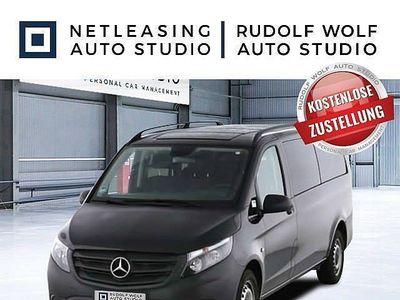 gebraucht Mercedes Vito 114 BT Extralang Tourer Pro Nav+AHK+9Sz+PT... Kombi / Family Van