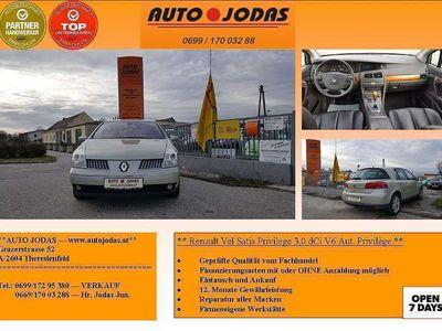 gebraucht Renault Vel Satis Privilege 3,0 dCi V6 Aut. Privilège