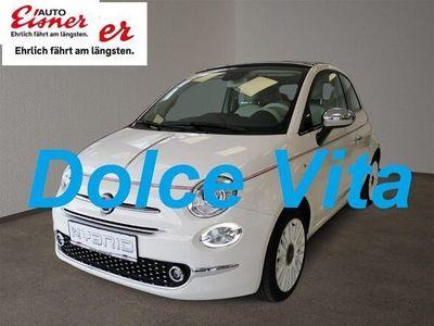 gebraucht Fiat 500C 1,0 FireFly Hyb Dolcevita