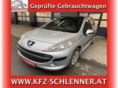 gebraucht Peugeot 207 Trendy 1,4/Panorama/Neu Überprüft Kombi / Family Van