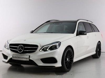 gebraucht Mercedes E350 BlueTEC 4MATIC Avantgarde A-Edition Plus Aut.