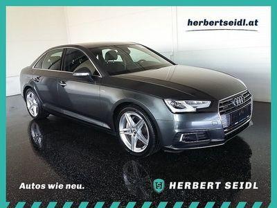gebraucht Audi A4 2,0 TDI quattro Sport S-tronic *VIRT. COCKPIT / S