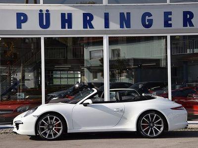 gebraucht Porsche 911 Carrera 4S Cabriolet DSG*Sport Chrono*Bose*Memory*