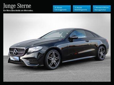 gebraucht Mercedes E220 E-Klasse4MATIC Aut. Sportwagen / Coupé