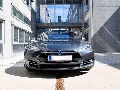 gebraucht Tesla Model S P85D Performance Model 700 PS Limousine