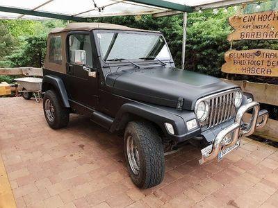 gebraucht Jeep Wrangler LKW Vorsteuerabzugsberechtigt TJ 4.0L 6Zyl. SUV / Geländewagen