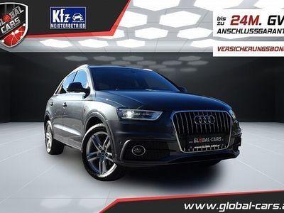 gebraucht Audi Q3 2,0 TDI*S Line+*Sportquattro*NAVI*XENON*VOLL!!!
