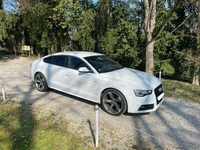 gebraucht Audi A5 Sportback 2,0 TDI Aut.S-Line,Navi,Xenon,Weiß
