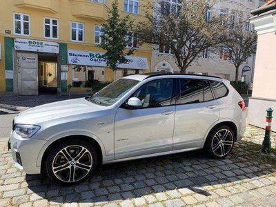 gebraucht BMW X3 x Drive20d M Sport Edition +Navi- HEAD-UP SUV / Geländewagen