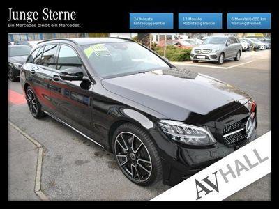 gebraucht Mercedes C220 dT Knieairbag*AMG Night Sportpaket LED Navi