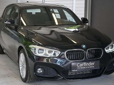 used BMW 118 d M Sport Aut./ LED-Scheinwerfer, Ledersitze, Lenk