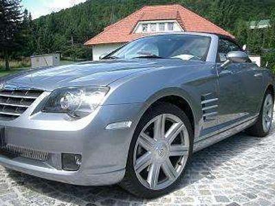 gebraucht Chrysler Crossfire Cabrio Roadstar Leder grau Klima Automatik Cabrio / Roadster