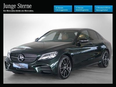 gebraucht Mercedes C300 d 4MATIC Aut. *AMG-Line*Night-Paket*Distronic plus*Comand*u.v.m.