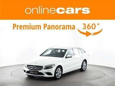 gebraucht Mercedes C180 C-Klassed T Business Aut. LED NAVI R-KAMERA MEGAP... Kombi / Family Van