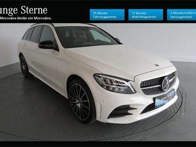 gebraucht Mercedes C200 T 4M. AMG-Line Neu.- Modell NP:63.600.-