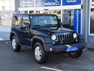 used Jeep Wrangler Sport CRD Automatik