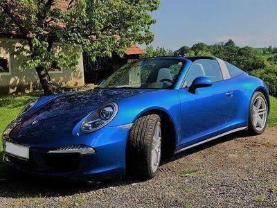 """gebraucht Porsche 911 -Targa-PDK-approved GARANTIE-""""SAUGER Motor"""" Cabrio / Roadster,"""