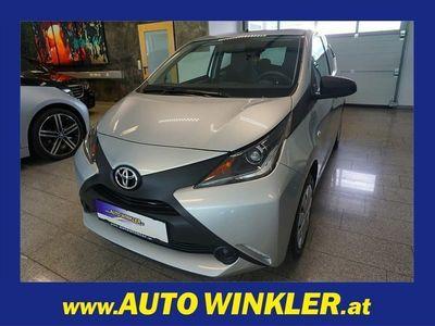 gebraucht Toyota Aygo 1,0 VVT-i x Klima Limousine