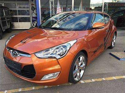 gebraucht Hyundai Coupé Veloster 1,6 sport plus GDI DCT !!!VORFÜHRER!!! Sportwagen /