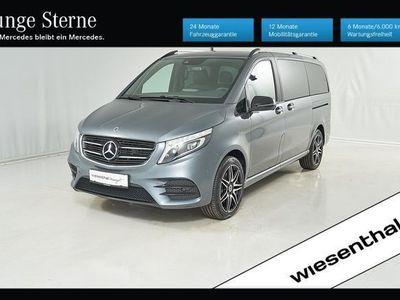 gebraucht Mercedes V250 V-Klassed 4MATIC lang Avantgarde Aut. Kombi / Family Van,