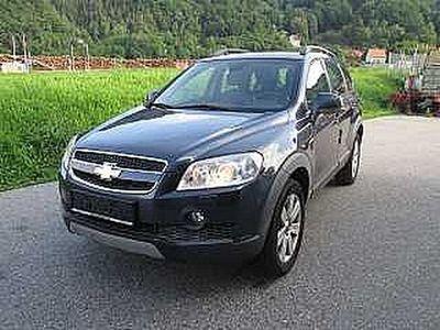 """gebraucht Chevrolet Captiva LT """"Luxus"""" 2,0 Ds. Aut. 4WD"""