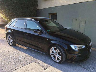 gebraucht Audi A3 Sportback 2,0 TDI quattro Klein-/ Kompaktwagen