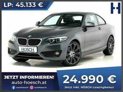 gebraucht BMW 220 220 d Coupe Advantage Aut.