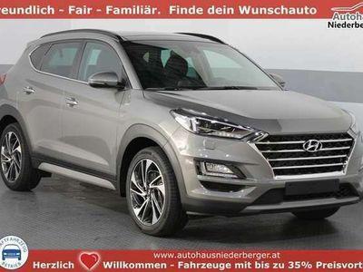 gebraucht Hyundai Tucson IMPRESSION 4WD DCT ACC LEDER KREL PANORAMA NAVI...