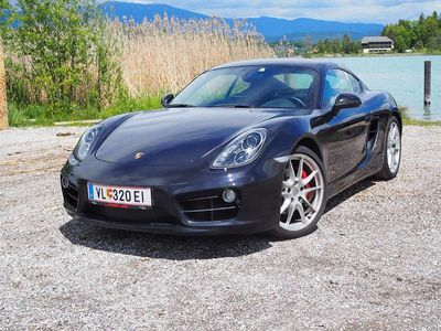 gebraucht Porsche Cayman S 3,4l 981 DSG top gepflegt Sportwagen / Coupé,