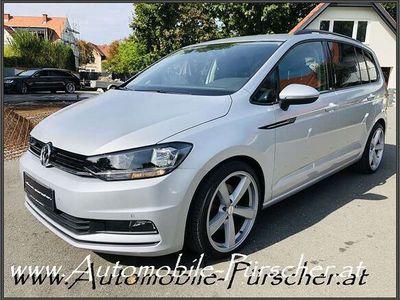 gebraucht VW Touran 1,6 - TDI DSG-19 Zoll-Top Zustand! Kombi / Family Van