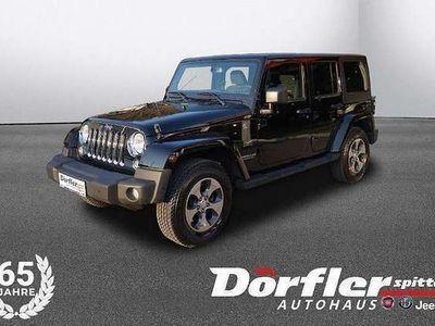 gebraucht Jeep Wrangler Unlimited 3,6 V6 Sahara Aut. Unlimited Sahara