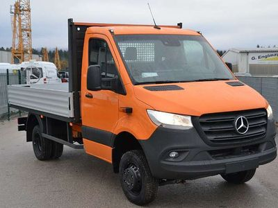 gebraucht Mercedes Sprinter 516 CDI/37 FHS 4x4 mit Getriebeuntersetzung