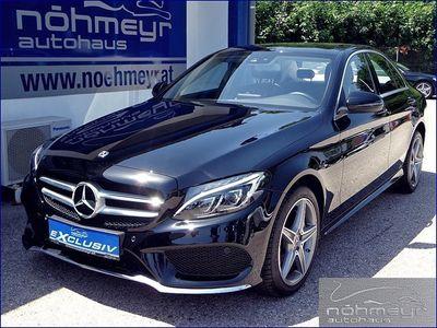gebraucht Mercedes C220 C-Klassed 4MATIC AMG Line Aut.***LED*Navi*Top Ser... Limousine,