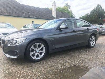 gebraucht BMW 418 Gran Coupé 4er-Reihe d - Leder - Xenon - Erstbesitz Sportwagen / Coupé