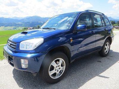 gebraucht Toyota RAV4 2,0 D-4D 4WD AHK, Klima, ALU