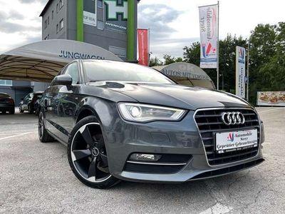 gebraucht Audi A3 2,0TDI Sport+3x S line+Xenon+Sitzheizung+Teilleder