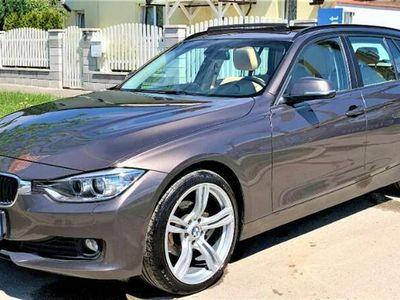 gebraucht BMW 318 d Automatik Panorama Navi Xenon Leder AHK * Garant