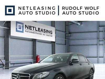 gebraucht Mercedes E220 4M Avantgarde+Exclu+Night+Multib+ILS+PSD