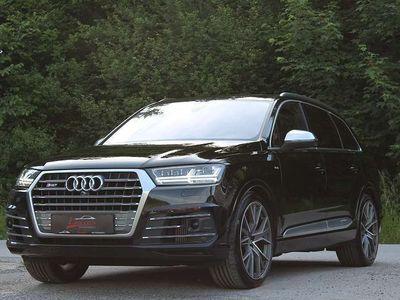 gebraucht Audi SQ7 Q74,0 TDI quattro Tiptronic *VOLL*PANO*7Sitze*BOSE*MATRIX*AHK *1.Besitz* SUV / Geländewagen
