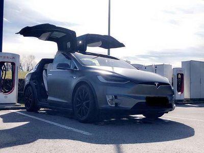 gebraucht Tesla Model X P90 D Signature Edition Suc-free 7-Seater SUV / Geländewagen