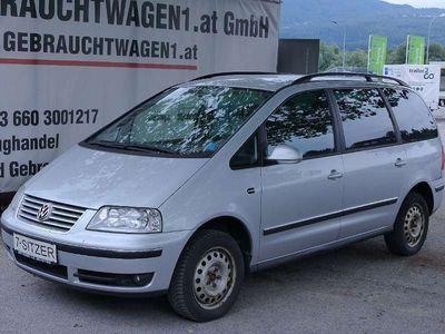 gebraucht VW Sharan TDI, 7 Sitzplätze + Anhängerkupplung, Klima