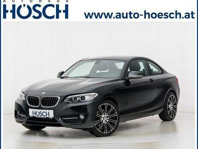 gebraucht BMW 220 d Coupe Sport Line xDrive Aut. LP:54.750.- €