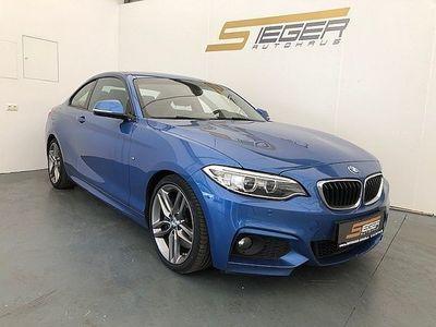 gebraucht BMW 220 2er-Reihe d Coupé M-Sportpaket Sportwagen / Coupé,
