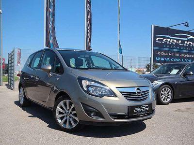 gebraucht Opel Meriva 1,4 ecoFlex Turbo Cosmo Start&Stop|Parksensoren v