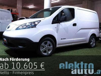 gebraucht Nissan e-NV200 Kastenwagen 40kWh Optima bis 26.145.- gefördert
