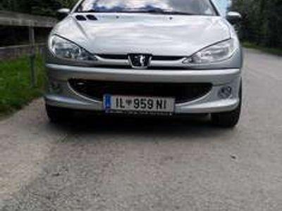 gebraucht Peugeot 206 CC Quicksilver 1,6 16V