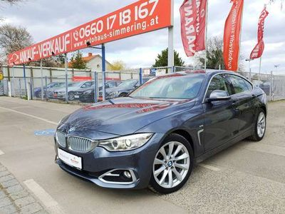 gebraucht BMW 418 Gran Coupé d(F36) Aut/Navi/LED/Leder/PDC/Bluetooth