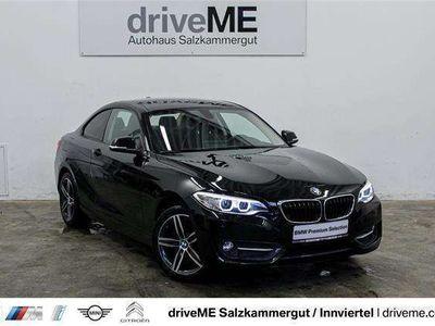 gebraucht BMW 220 d Coupe Sport Line